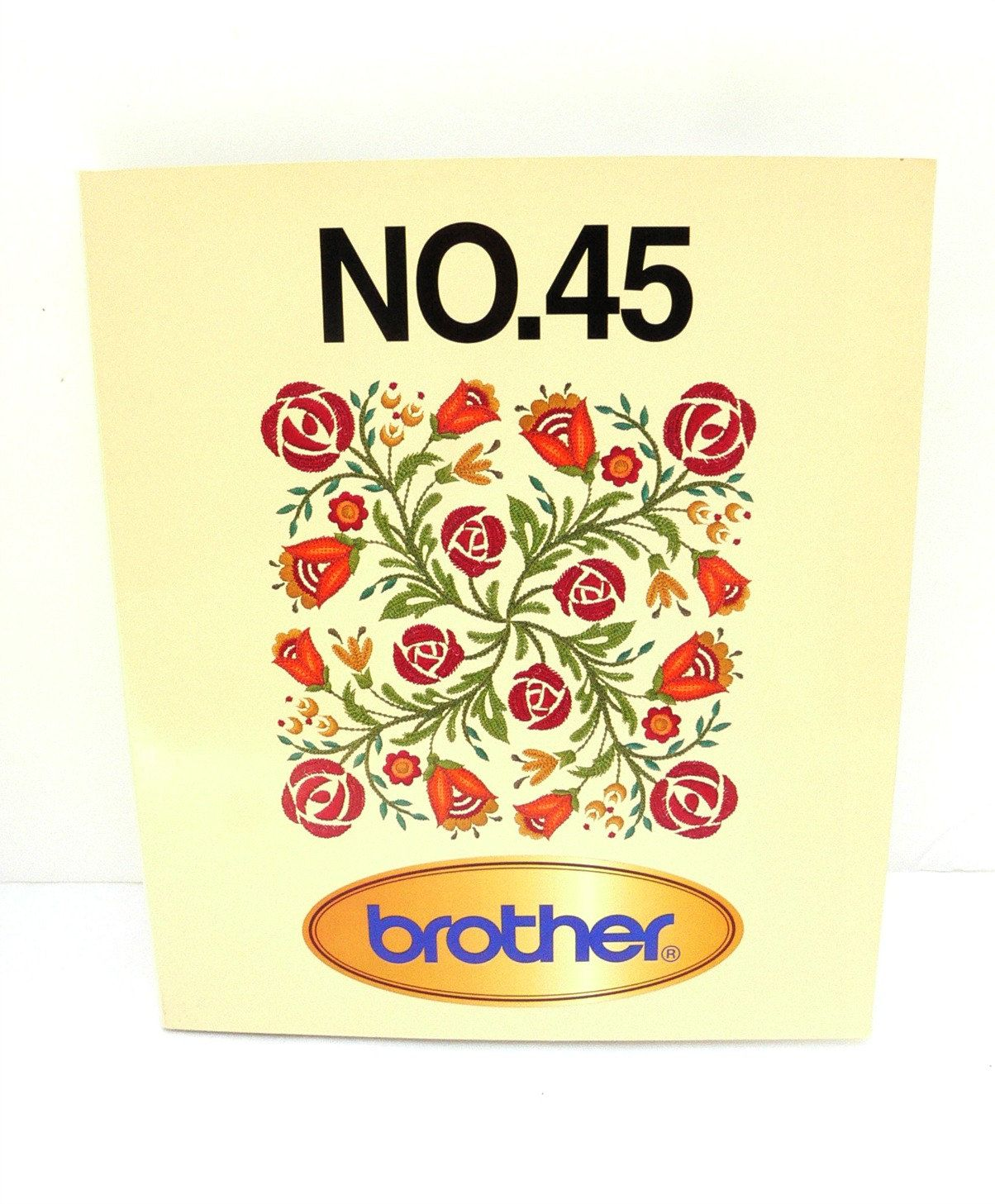 Brother Embroidery Card - Fancy Work No  45 - Memory Card | Sewing