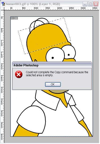 Homer Simpson adode photoshop