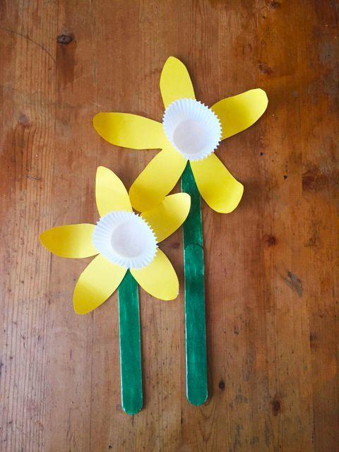 Spring Daffodil Craft   Art for work   Daffodil craft
