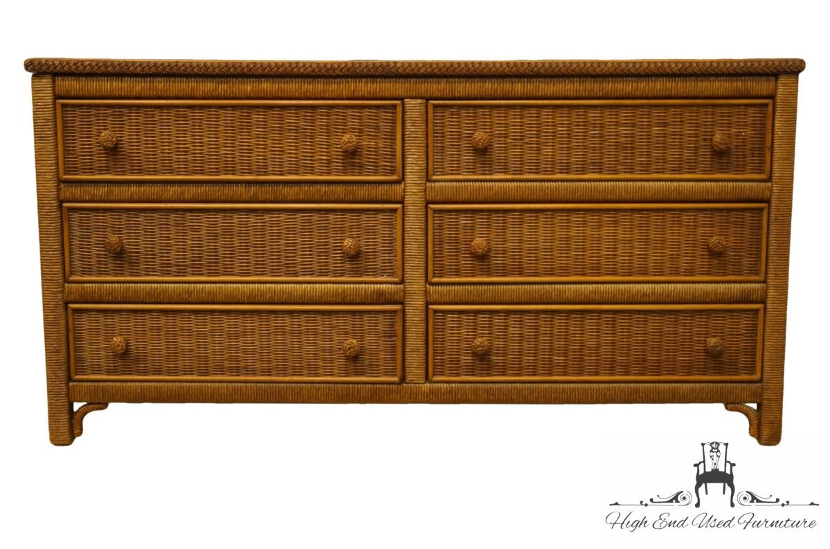 Best Lexington Henry Link Wicker Collection 58 Double 640 x 480