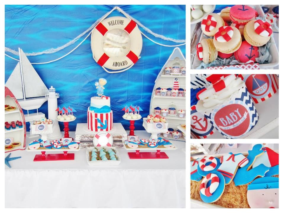 Itu0027s A Boy Nautical Baby Shower   Baby Shower Ideas   Themes