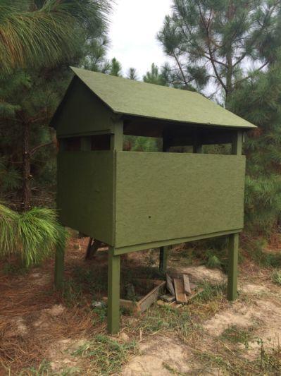 Easy Amp Cheap Homemade Deer Blind Deer Stands Whitetail
