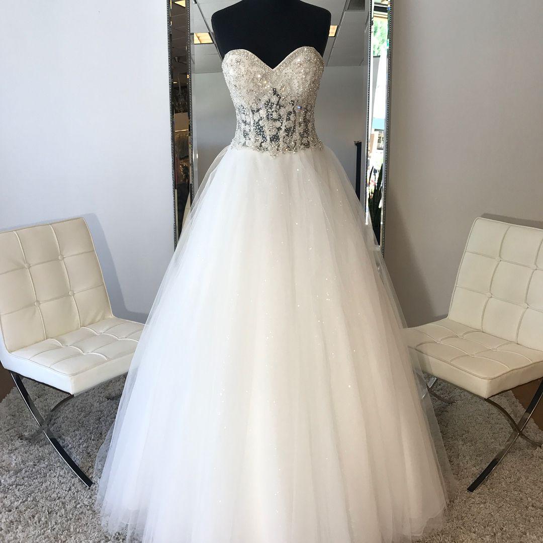 16++ Sheer corset top wedding dress info