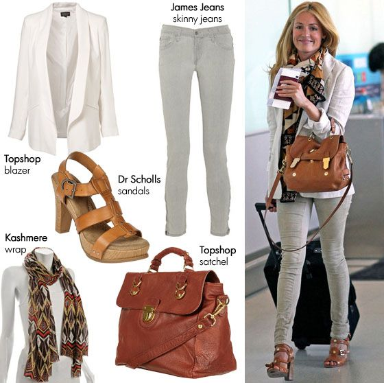 Cat Deeley's Airport Fashion