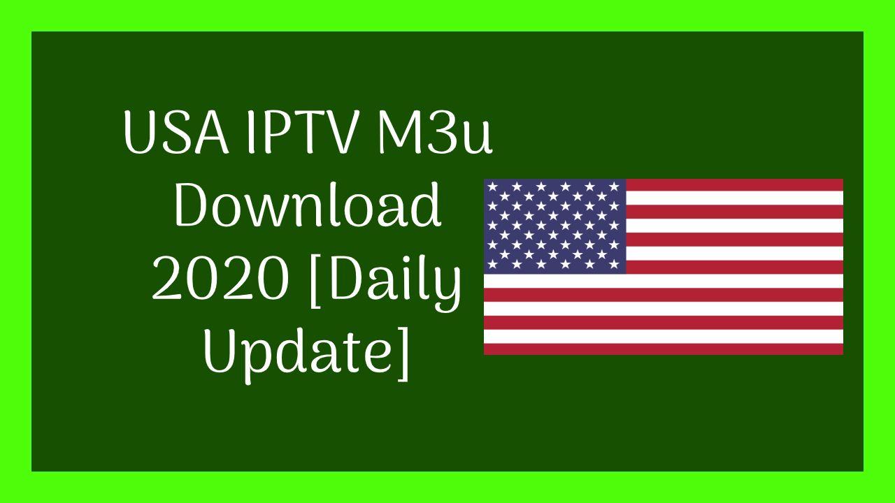 Usa Iptv M3u Download 2020 Daily Update Usa Channel Free Tv Channels Free Playlist