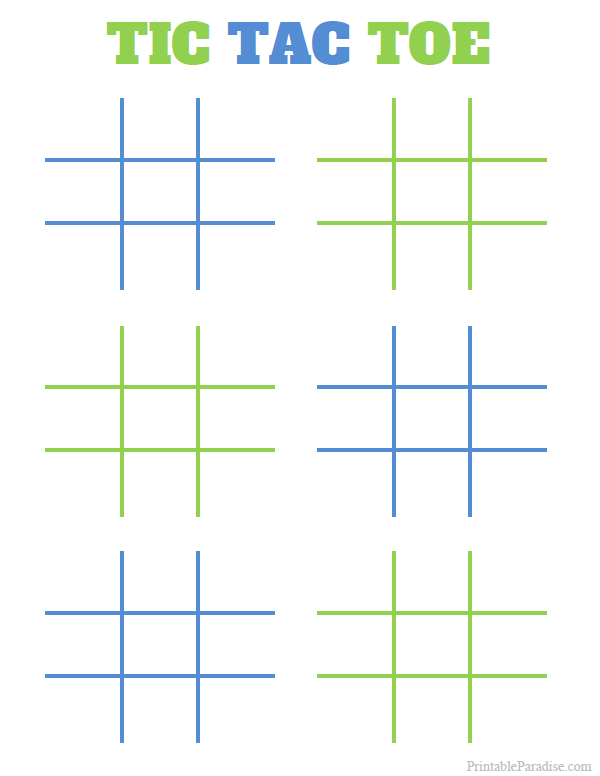 image relating to Printable Tic Tac Toe Boards titled Printable Tic Tac Toe Board Activity Miscellaneous Printables