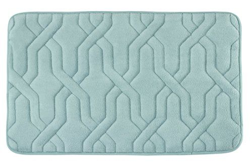Turn your bathroom into a home spa oasis with #Bounce #Comfort, memory foam bath accessories. Sink your feet into the plush, super soft comfort of the Drona memor...