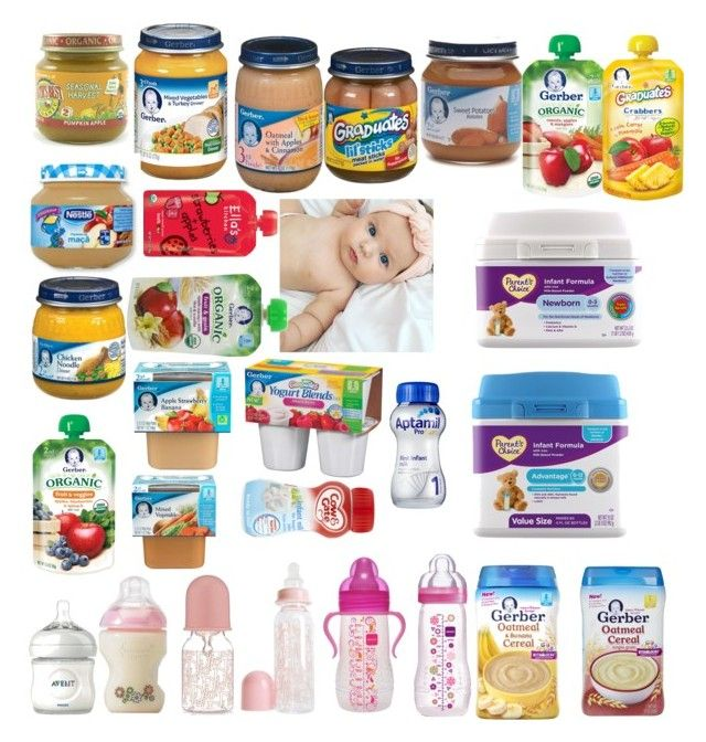 """""""Baby girl food."""" by elisabeth-galfano ❤ liked on Polyvore featuring Philips, Christian Dior, Gerber, Nestlé and ELLA"""