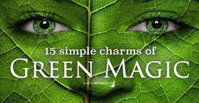 Green Magic is the path of Witchcraft, related to the power coming from Herbs, Trees and all that grows in the wild. Although it was not officially distinguished from all other paths of Magic, the Green Witchcraft has lately became quite famous, as it promotes spiritual balance and promotes awareness of nature. This is why… #greenwitchcraft Green Magic is the path of Witchcraft, related to the power coming from Herbs, Trees and all that grows in the wild. Although it was not officially disting #greenwitchcraft