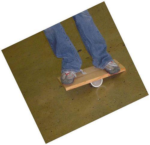 balance board (DIY)