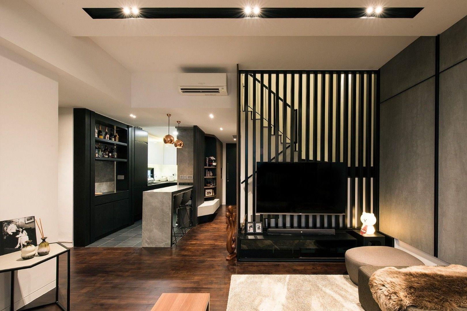 Contemporary Living Room 463 Pasir Panjang Rd Singapore Design Neu Pte Ltd Apartment Interior Interior Design