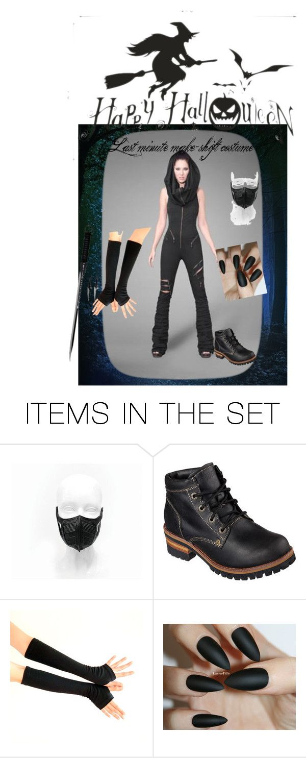 """Halloween last minute costume."" by cat-anaya ❤ liked on Polyvore featuring art"