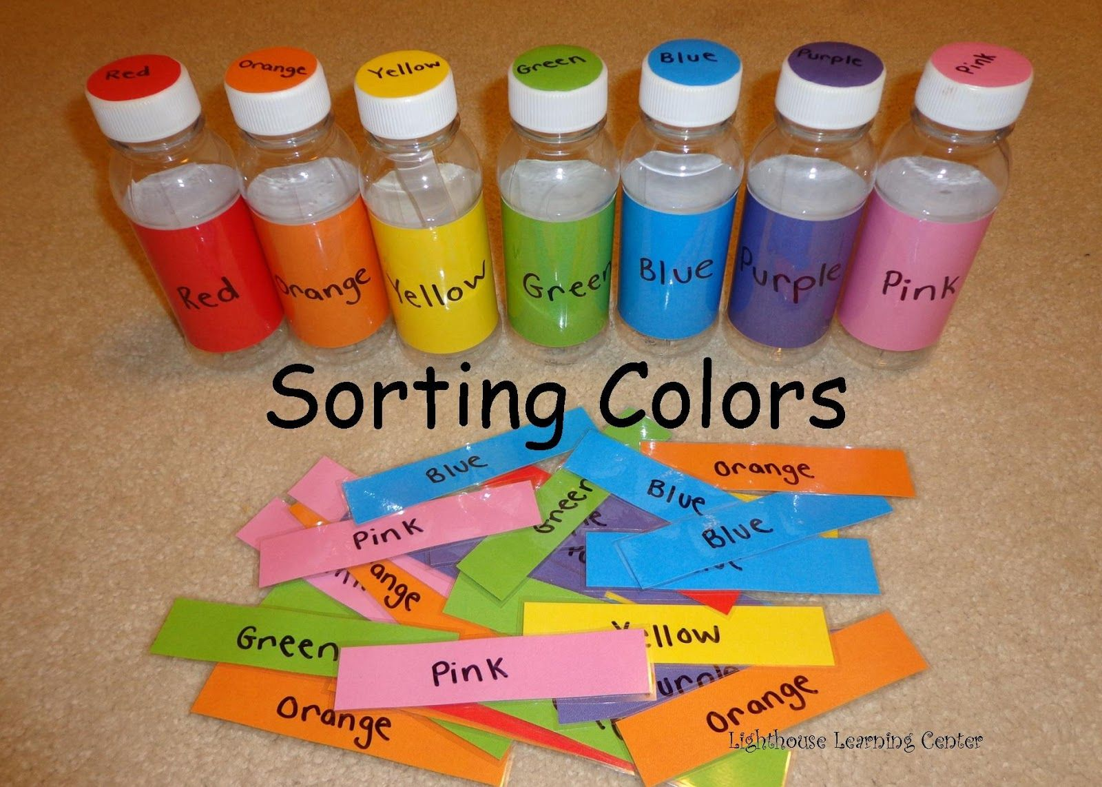 Lighthouse Learning Center Sorting Colors