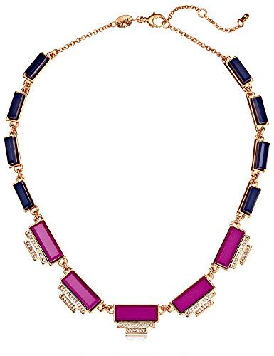 Fossil Deco Statement Rose Gold, Magenta and Navy Necklace Fossil http://www.amazon.com/dp/B00LVL2VIG/ref=cm_sw_r_pi_dp_QjwYub1AAHHX9 $61.60