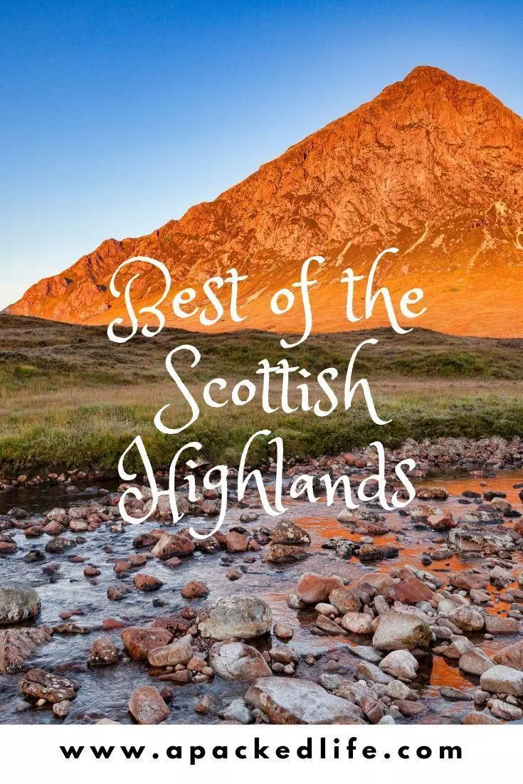 Scenic Scottish Highlands Itinerary a packed life