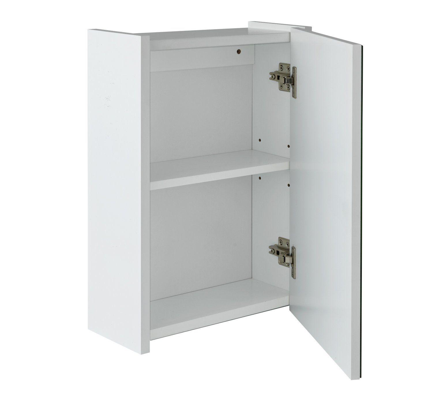Buy HOME 1 Door Mirrored Bathroom Cabinet at Argos.co.uk, visit ...