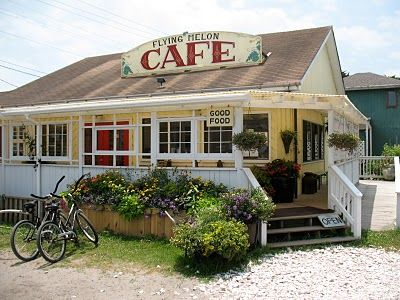 The Flying Melon Cafe On Ocracoke Island Nc I 3 This Adorable