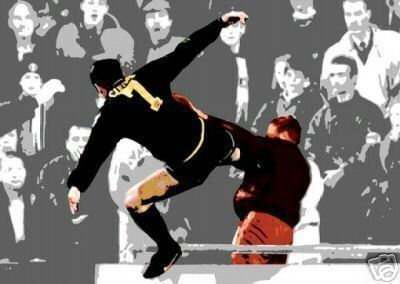 Eric cantona's kick, 25 years on: Don T Mess With Eric Cantona And His Kung Fu Kick All The Way To The Stands Eric Cantona Manchester United Legends Eric Cantona Kick