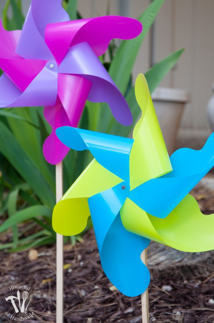 Diy Giant Outdoor Pinwheels Pinwheels Diy Diy Home Crafts