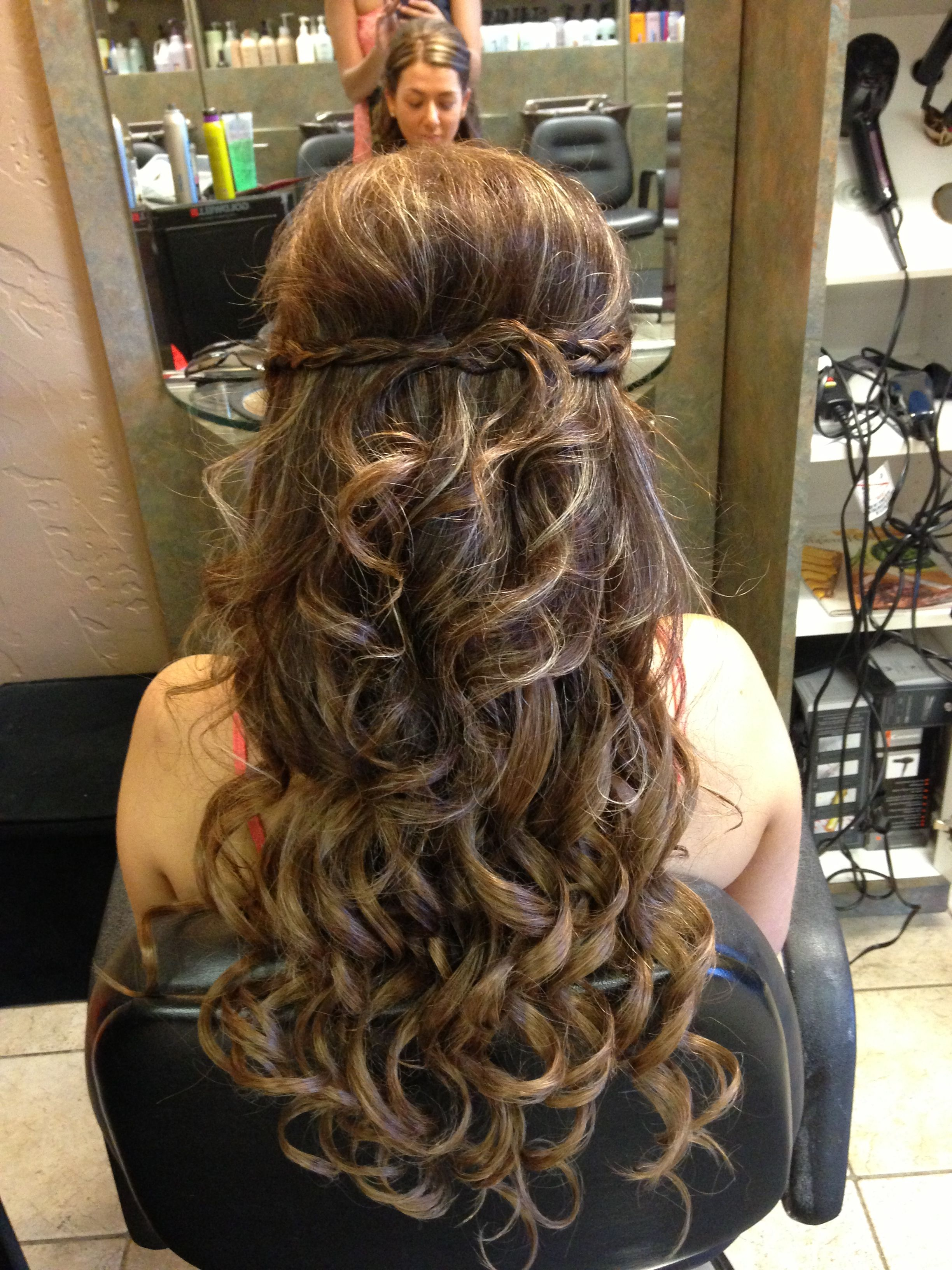 half up updo with extensions | my work | hair, hair styles