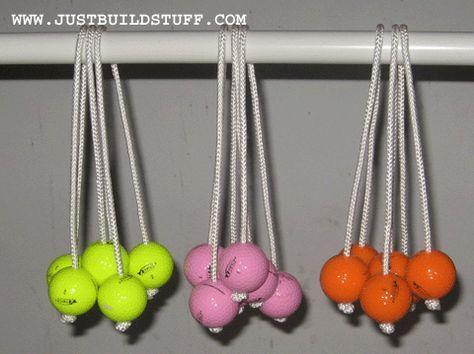 Build A Ladder Ball Golf Game Make The Bolas Ladder Ball
