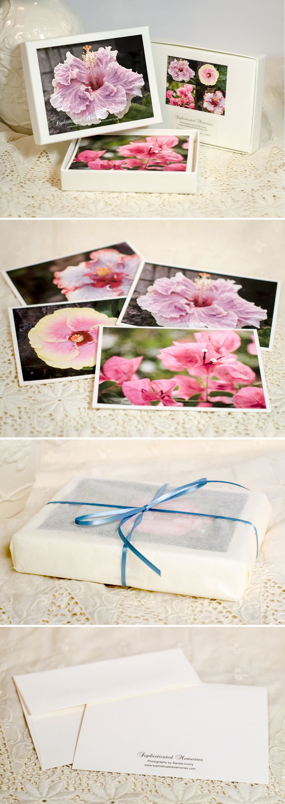 Mothers Day Gift Boxed Greeting Card Set Fine Art Photo Note