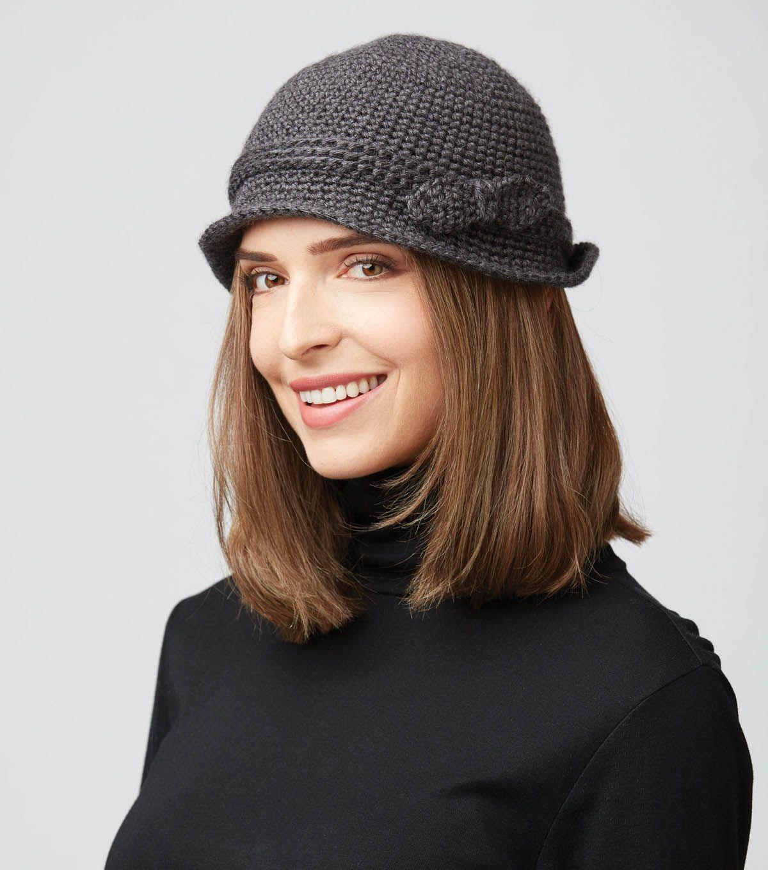 CROCHET CLOCHE HAT | Crochet with JOANN | Pinterest