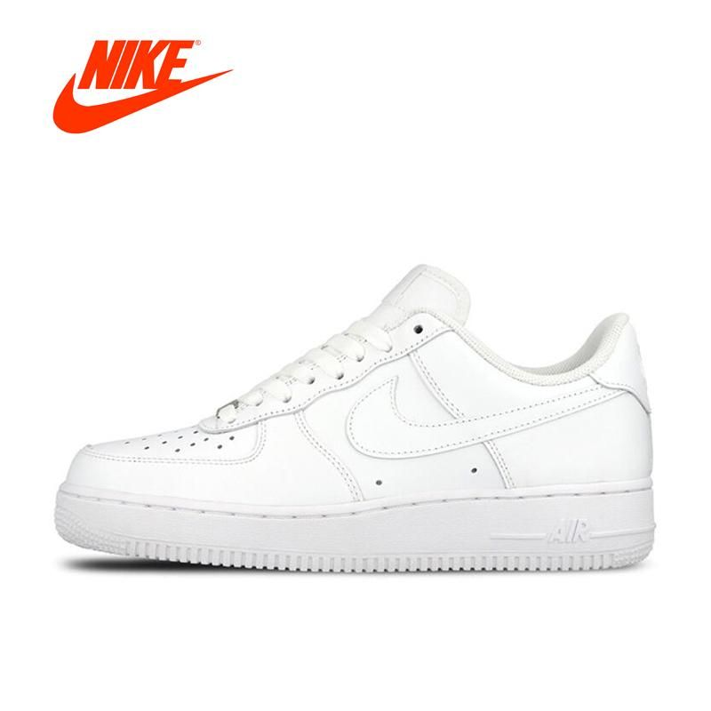 0df99446386ac Original New Arrival Official Nike AIR FORCE 1 AF1 Unisex Women and Men  Breathable Skateboarding Shoes