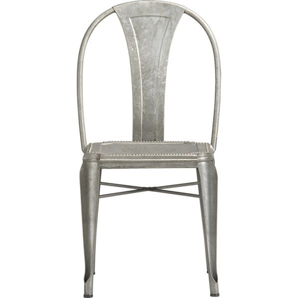 Lyle Metal Dining Chair Reviews Crate And Barrel Metal Dining Chairs Dining Chairs Side Chairs