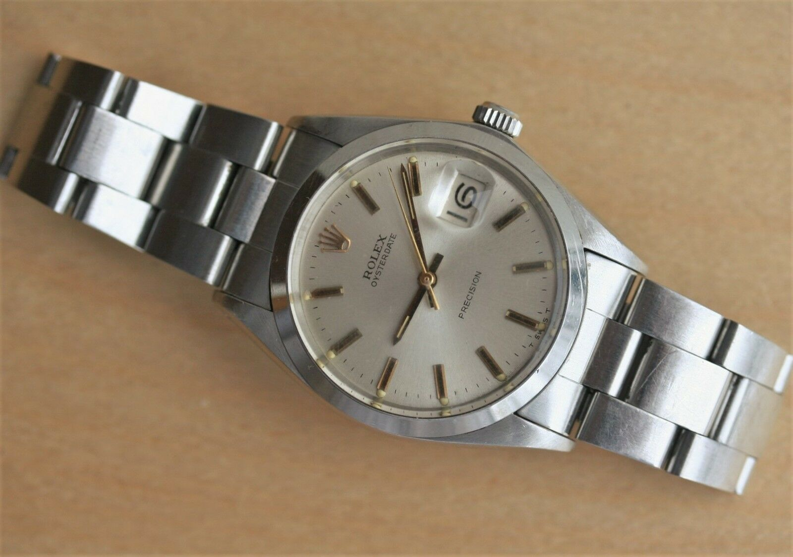 Forsale rolex precision date 6694 from 1969 1225