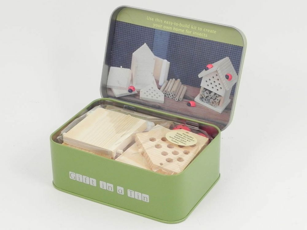 Gift in a tin insect house house gifts gifts travel