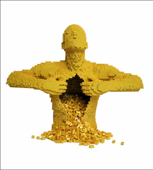 Lemonycoco On Twitter Lego Sculptures Lego Art Cool Lego Creations