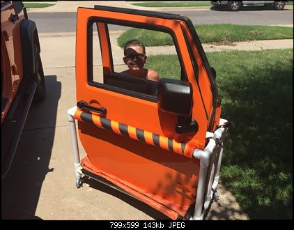 Diy Door Storage Cart Jeep Wrangler Forum Jeep Wrangler