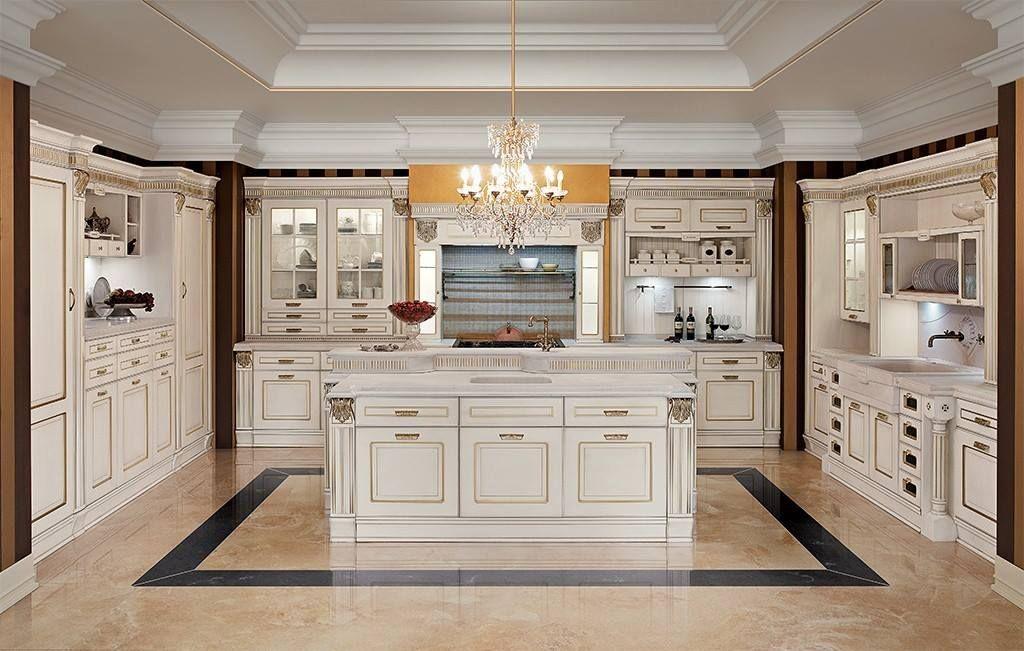Cucina con Isola Classica | Idee Cucine con Isola | Pinterest
