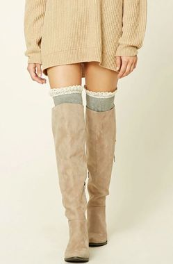 Over-the-Knee Ruffle Socks.