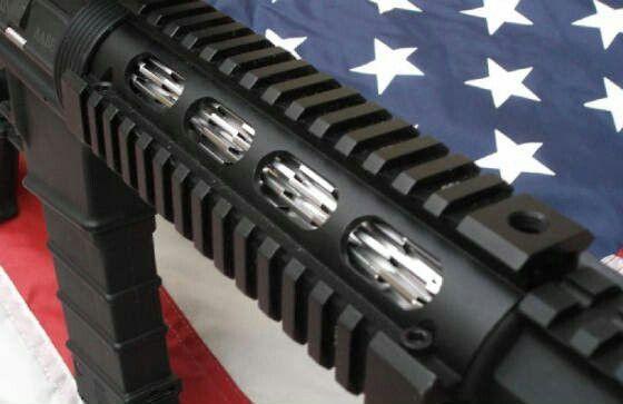 Under Handguard Barrel Cooling Fins Guns Ammo Tactical Gear Guns