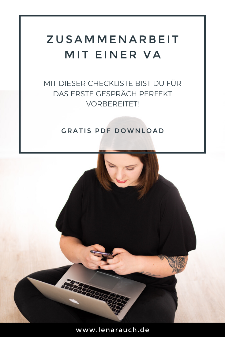 Freebie Checkliste Fur Ein Erfolgreiches Erstgesprach Lena Rauch Virtuelle Assistenz Marketing Management Online Marketing Marketing