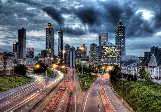 photo by andysharp74 on Flickr.  Atlanta - the capital city of Georgia, United States.