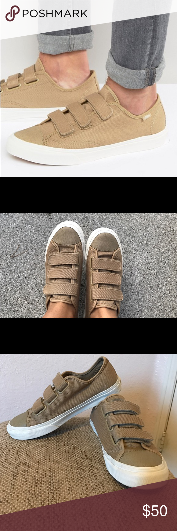 vans prison issue beige