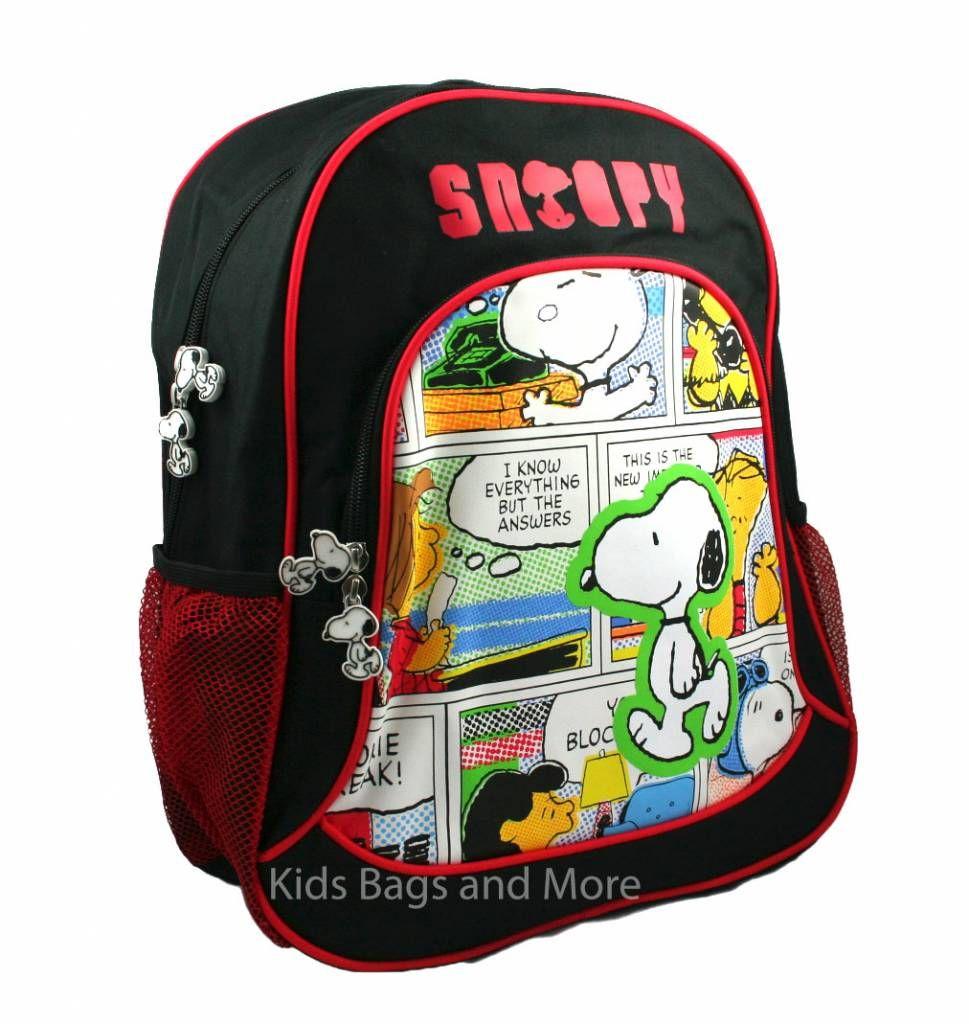 8d66ae03aaa Snoopy Schooltas   Schooltas meisje - Backpacks, Bags en Snoopy