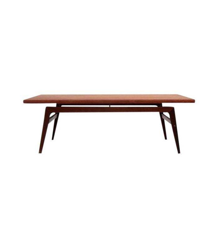 Chairish Mid-Century Modern Vintage Teak Coffee Table