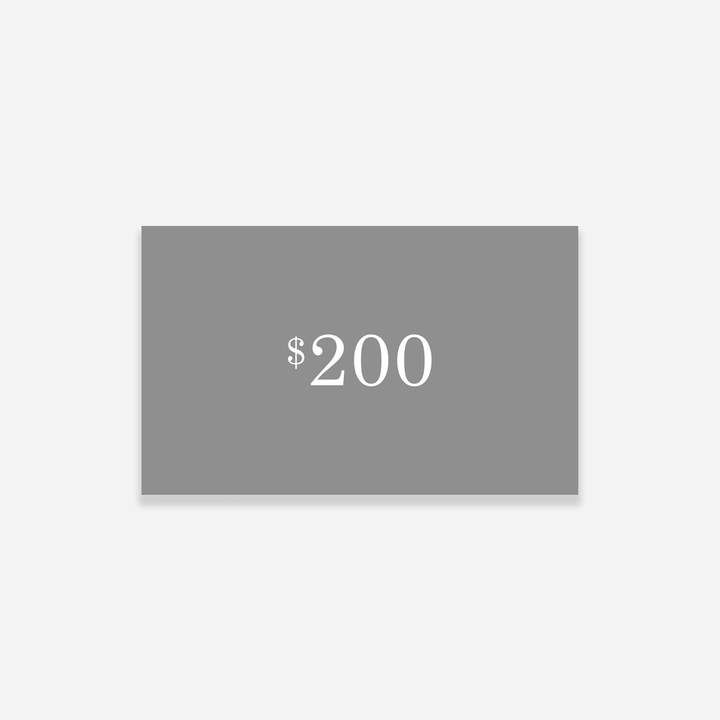 Everlane Gift Card $200 Available Colors: Physical or Digital Available  Sizes: Digital Get them what they want not what you think they want.