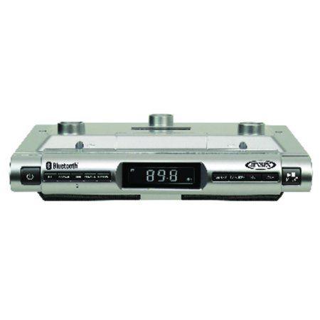 JENSEN SMPS-628 Under-Cabinet Universal Bluetooth Music System - Walmart.com