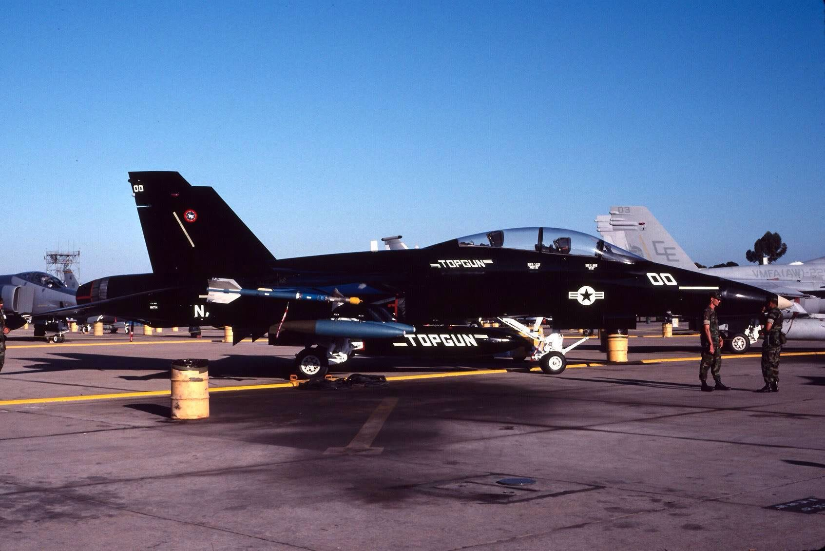 Top Gun Flugzeuge