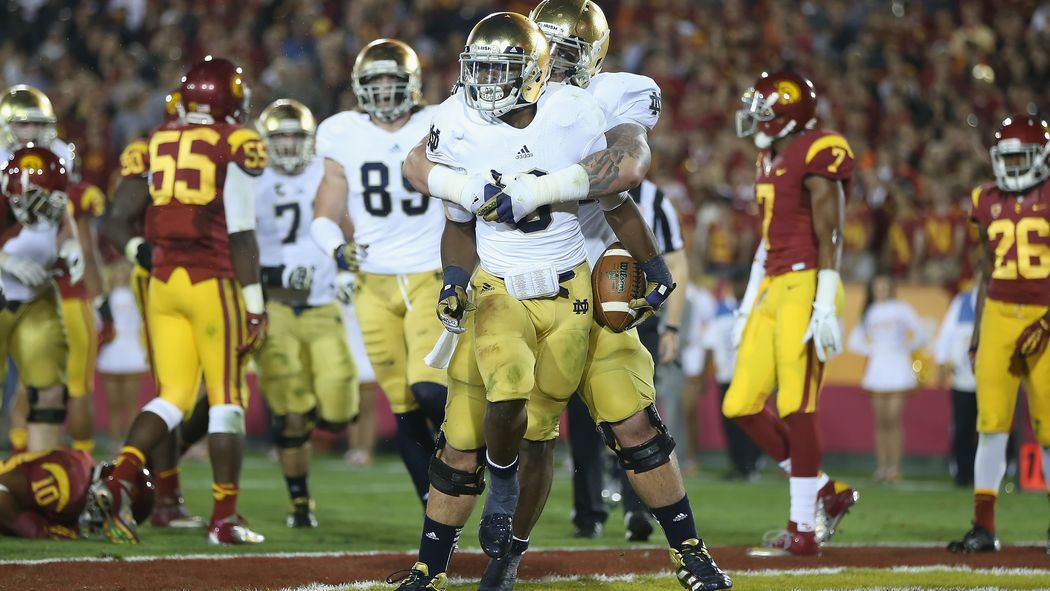 Notre Dame Football Southern Cal Rivalry Week (With