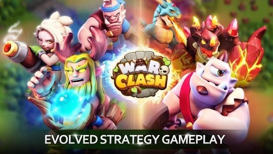 Welcome to War Clash – the first true mobile RTS game |