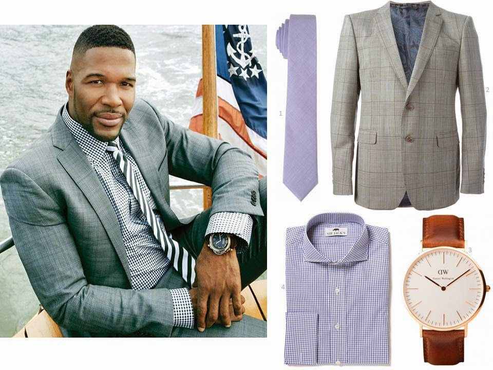 Michael Strahan Clothing Line August 2017