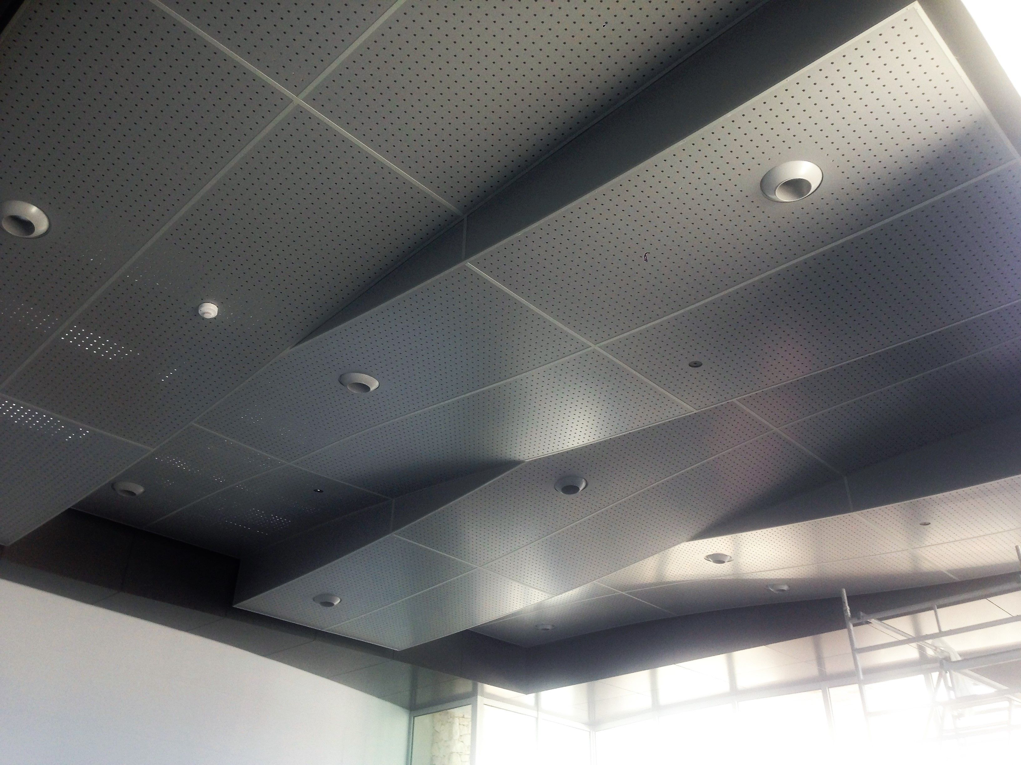 africa aluminium structural systems installed curved ceiling