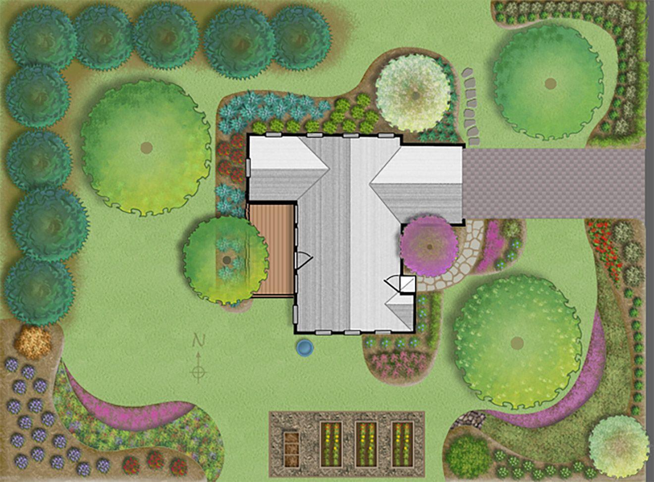 Jersey-Friendly!   Rain garden, Rain garden design, Native ...