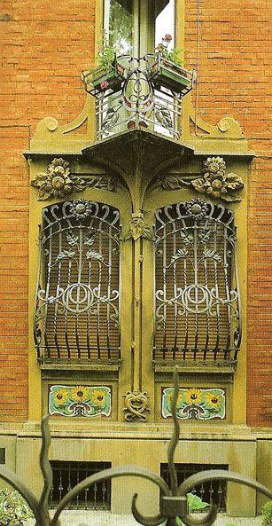 Architecture Art Nouveau Bologne Italie Fenetre Liberty 1905